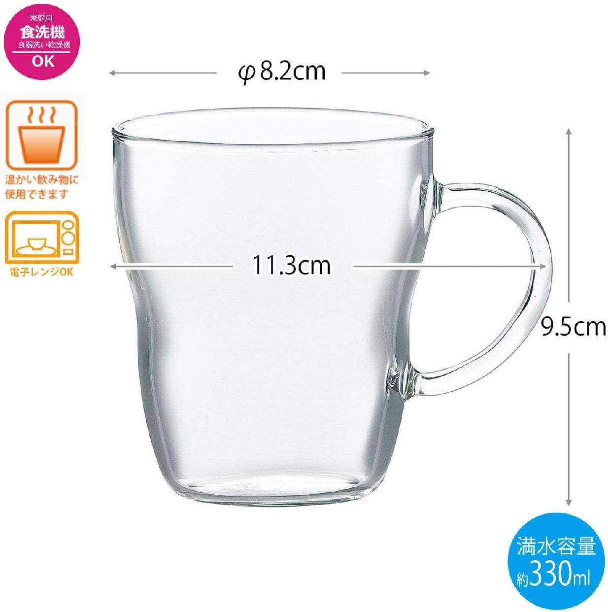 東洋佐々木ガラス 耐熱マグカップの商品画像3