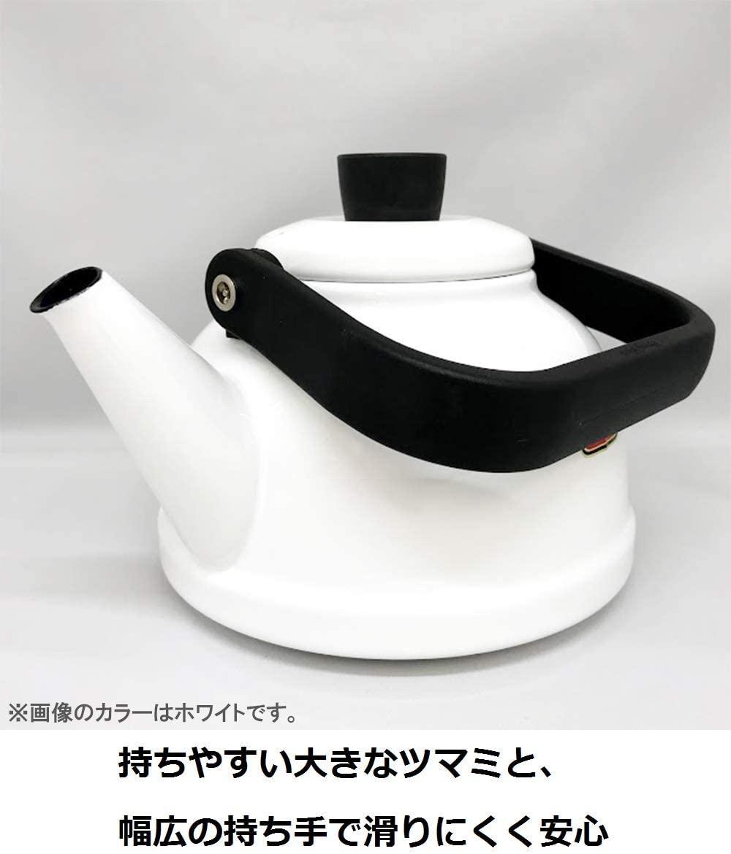 富士ホーロー(FUJIHORO) ソリッドシリーズ 2.3L Kettle SD-2.3Kの商品画像3