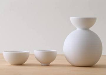 ceramic japan(セラミック・ジャパン)酒器だるま(ビスク) YD-1の商品画像2