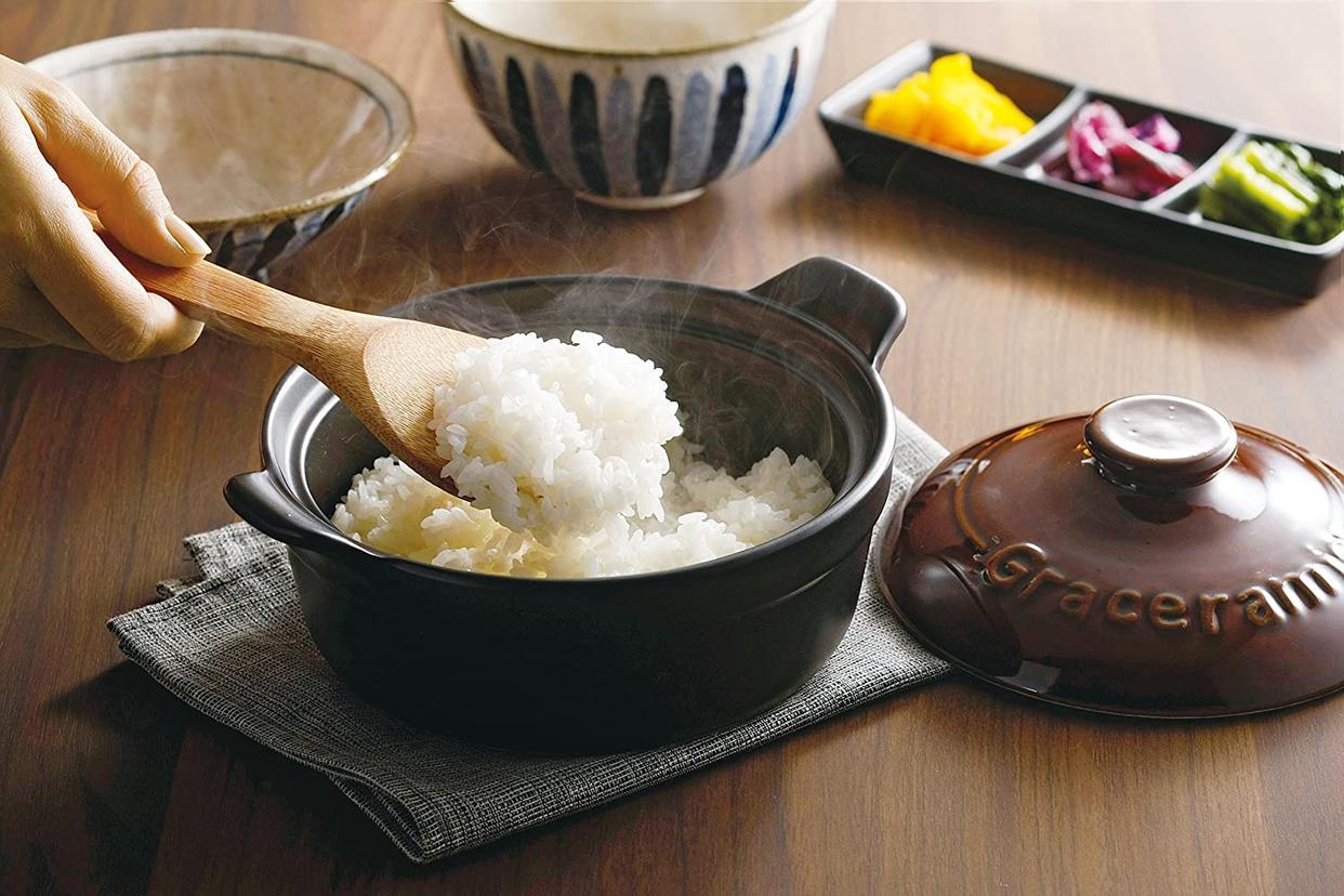 エソール 電子レンジ炊飯土鍋 Gracramicの商品画像3