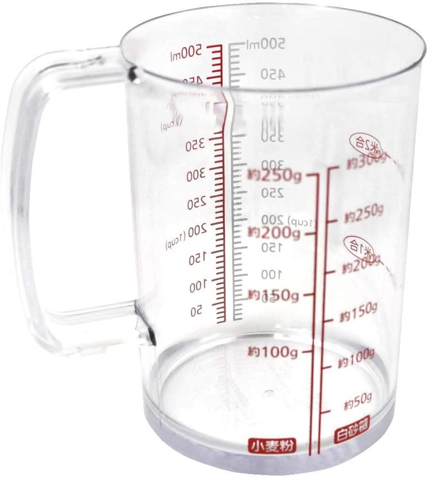 貝印(KAI) 耐熱計量カップ 500mlの商品画像