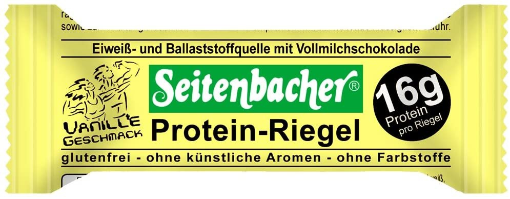 Seitenbaceher(ザイテンバッハ) プロテインバーの商品画像