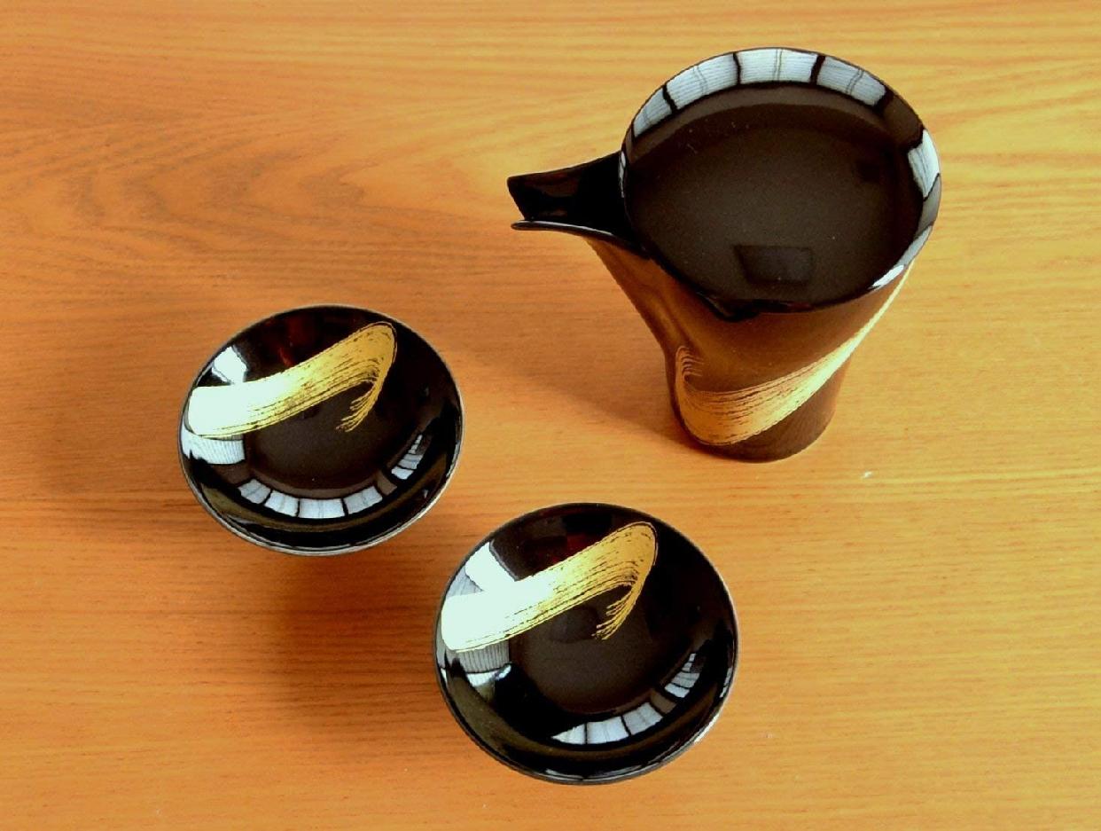 有田焼やきもの市場(ありたやきものいちば)有田焼 月の光 至福の半酒器セットの商品画像3