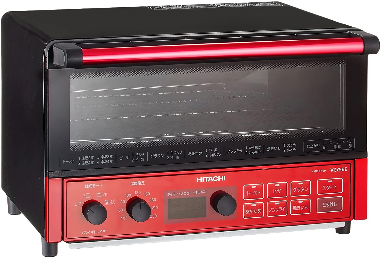 日立(ひたち)コンベクションオーブントースターHMO-F100の商品画像