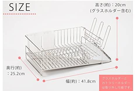 山崎実業(Yamazaki) 伸縮水切りワイヤーバスケット タワー 3492 ホワイトの商品画像3