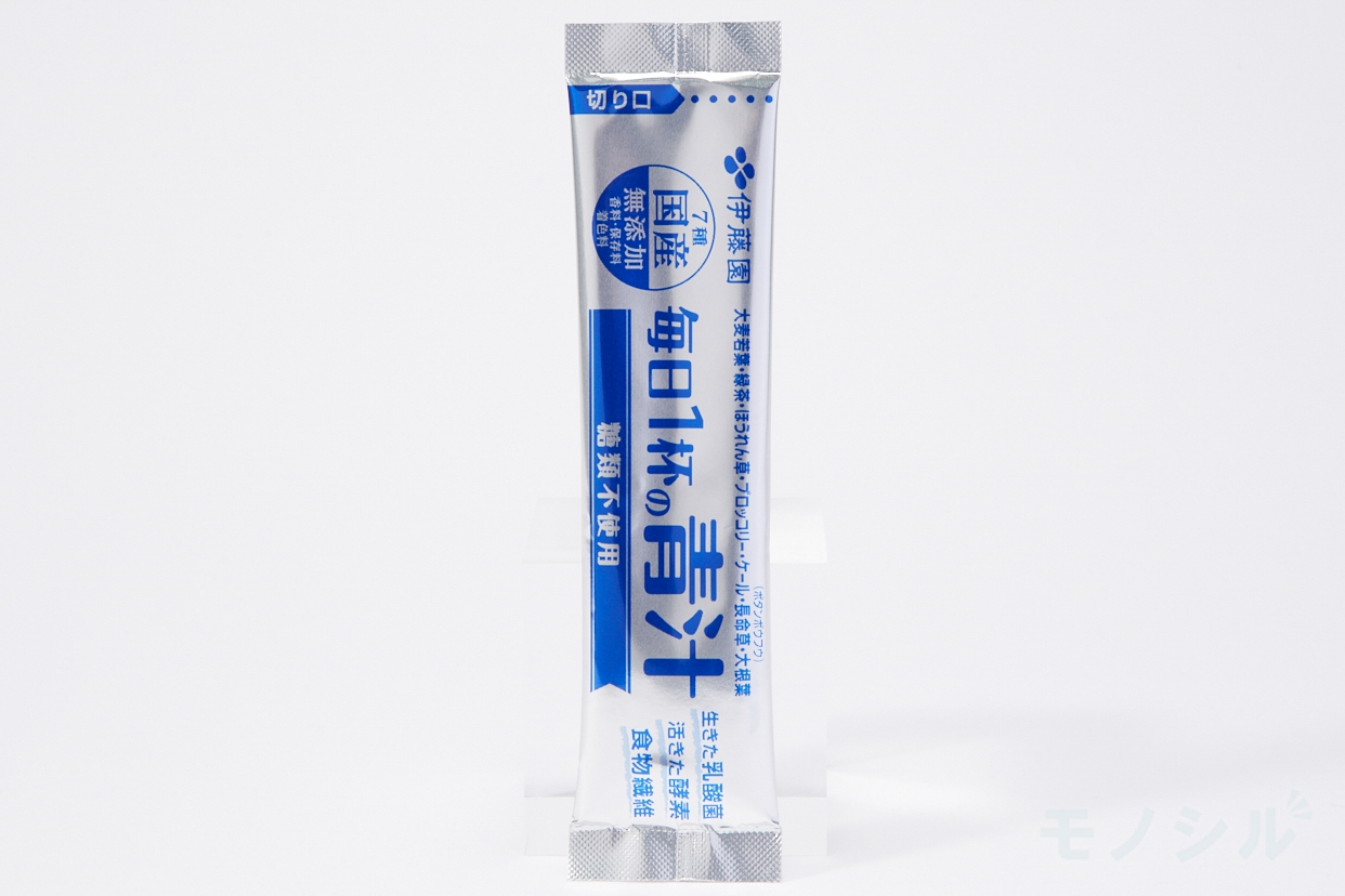 伊藤園(イトウエン) 毎日1杯の青汁 糖類不使用の商品画像2 個包装のパッケージ
