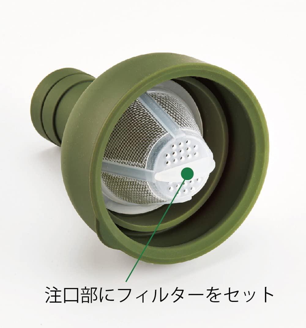 HARIO(ハリオ) フィルターインボトル 750ml オリーブグリーン FIB-75-OGの商品画像3