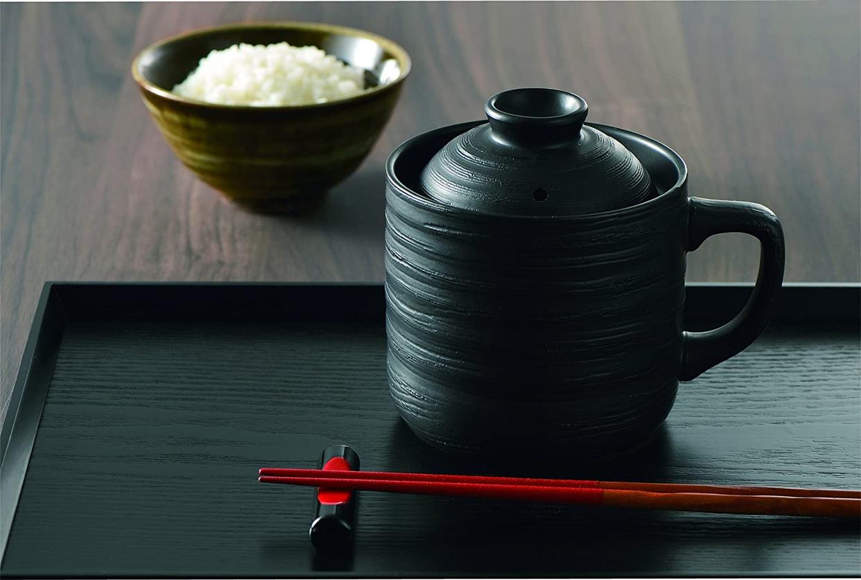 カクセー 電子レンジ専用炊飯陶器 楽炊御膳 T-01Bの商品画像5