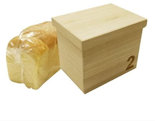 ビーグラッドストア 桐ブレッドボックス「2」1.5斤の商品画像