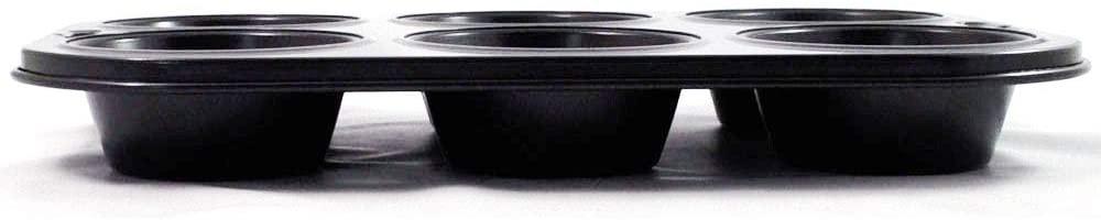 Kai House SELECT(カイハウスセレクト)かわいいマフィンが一度に6個できる焼き型 ブラック DL-6173の商品画像4