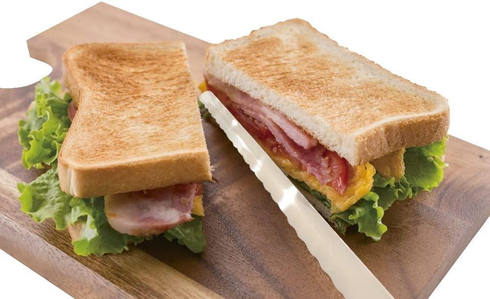 Kai House SELECT(カイハウスセレクト)焼きたてパンのためのパン切り AC-5011 シルバーの商品画像7