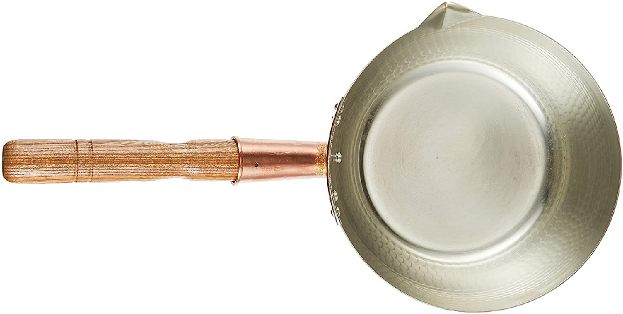丸新銅器 雪平鍋 銅 21cm ゴールドの商品画像3