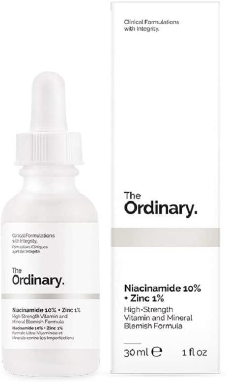 The Ordinary(ジオーディナリー) ナイアシンアミド10% + 亜鉛1% ハイストレングス ビタミン&ミネラル ブレミッシュ フォーミュラ