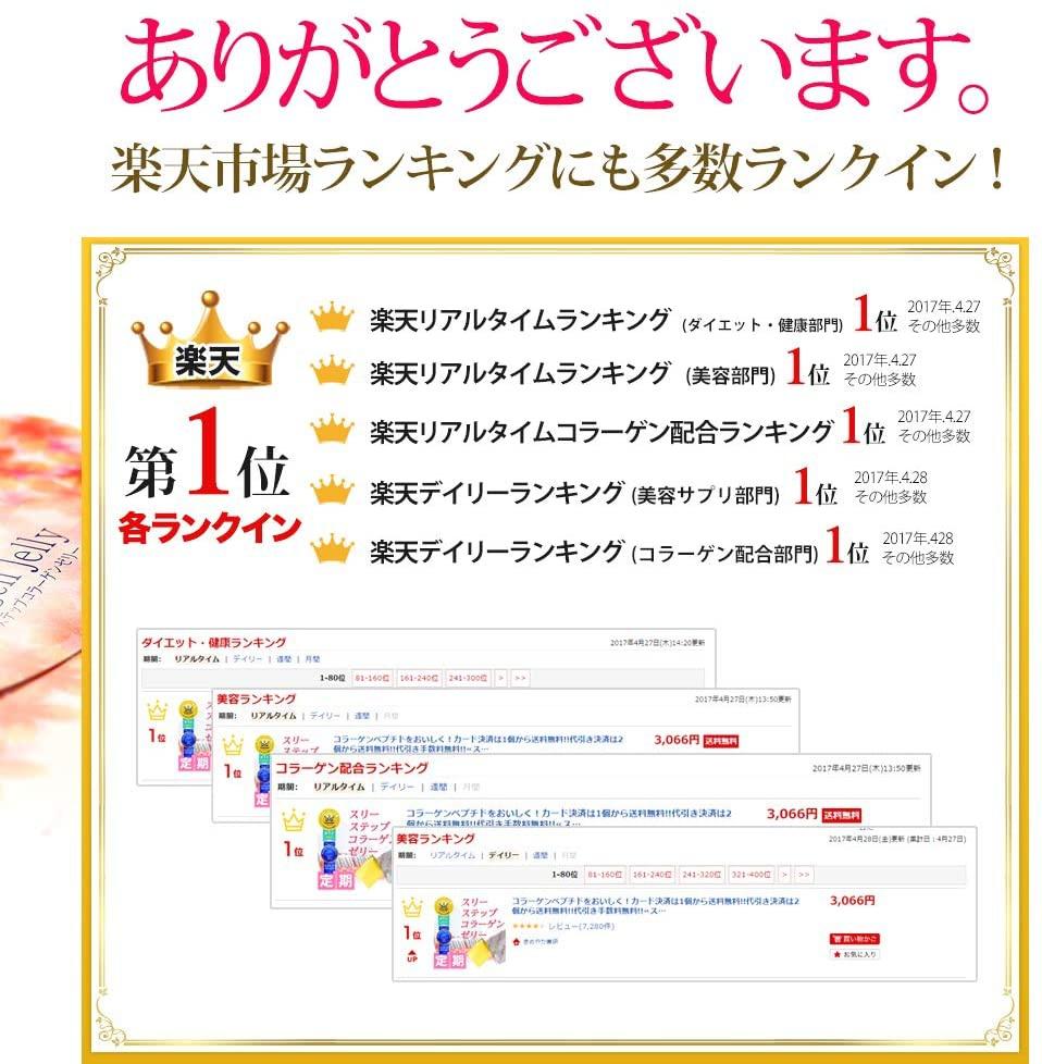 きめやか美研 スリーステップ コラーゲンゼリーの商品画像5