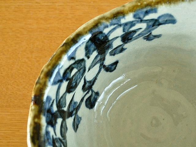 M'home style(エムズホームスタイル) ラーメン鉢 美濃焼 手書きたこ唐草 19.5cmの商品画像5