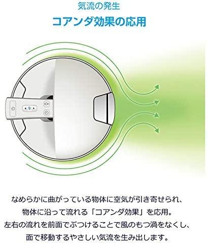 DeLonghi(デロンギ) 空気清浄機能付き スリムファン HFX85W14Cの商品画像8