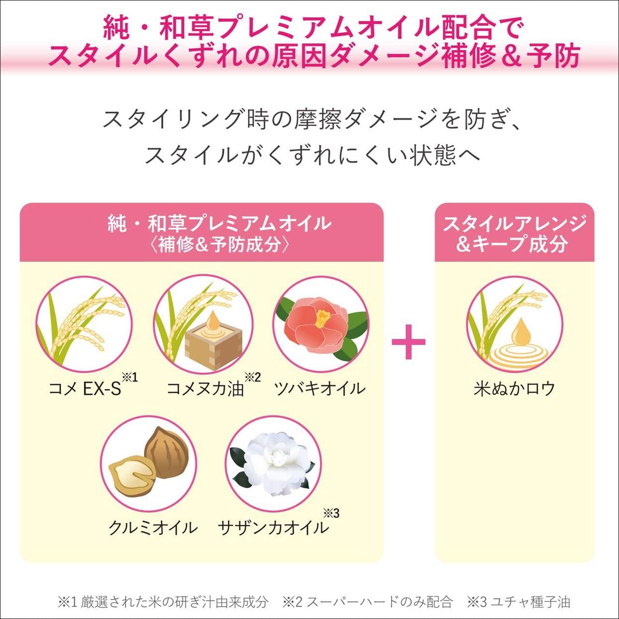 いち髪(ICHIKAMI) ヘアキープ和草スティック(ナチュラル)の商品画像5