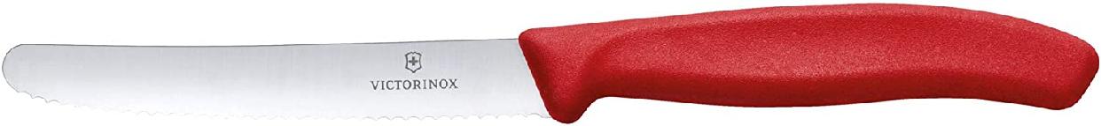 VICTORINOX(ビクトリノックス) スイスクラシック トマト&テーブルナイフ 11cm 6.7831E レッドの商品画像