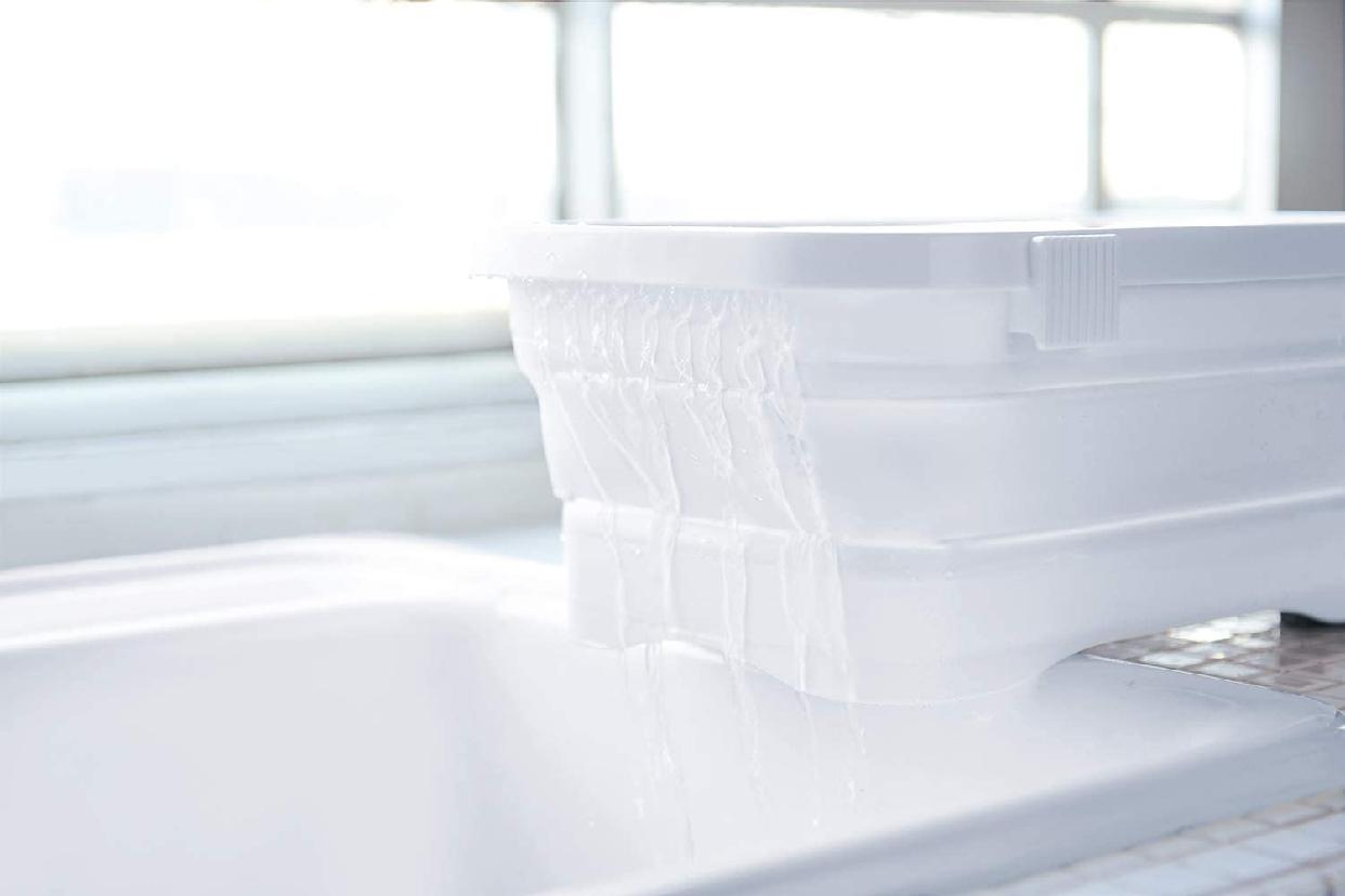 伊勢藤 折りたたみ洗い桶 キッチンソフトタブ 6.6L I-590の商品画像7