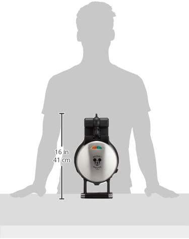 DOSHISHA(ドウシシャ) ワッフルメーカー ミッキーマウス シルバー WAFU-100SIの商品画像8