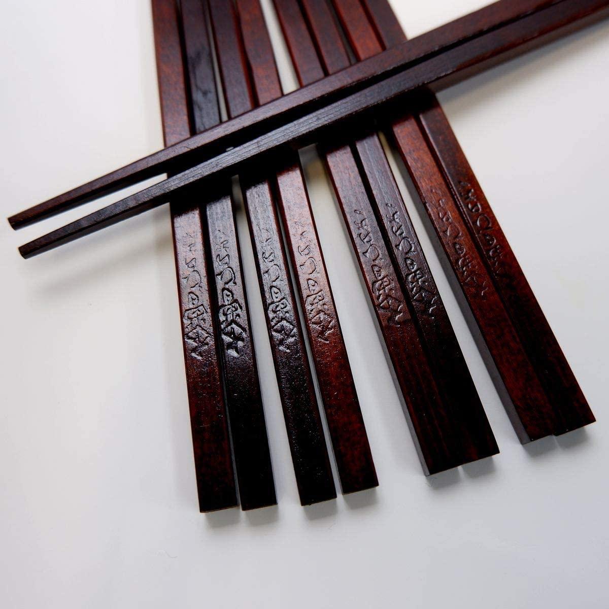 はりま屋(ハリマヤ) 木曽ひのき箸 5膳セット 22.0cmの商品画像