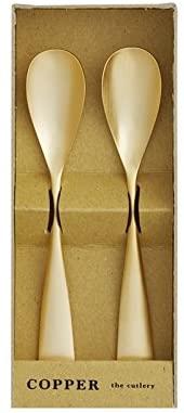 COPPER the cutlery(カパーザカトラリー) アイスクリームスプーン 2本セットの商品画像