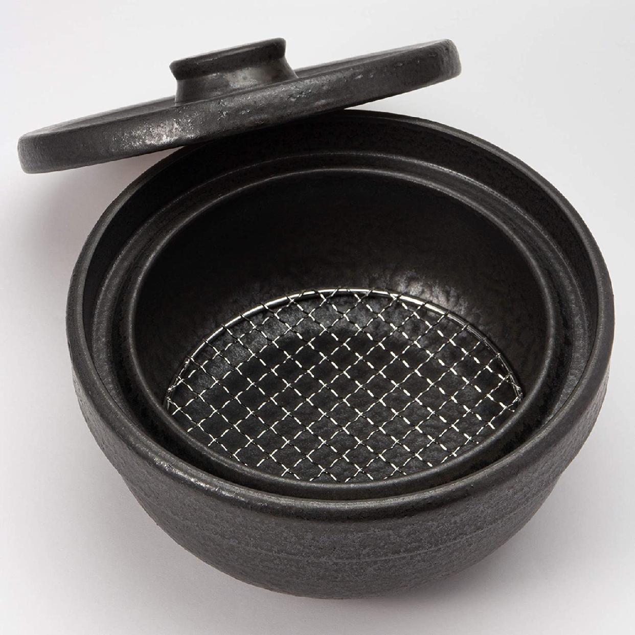 男厨 無水土鍋 ブラック NAZ-01の商品画像4