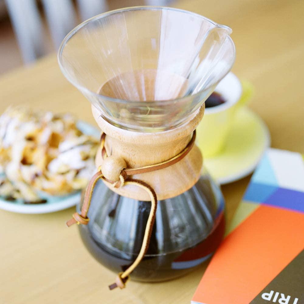 CHEMEX(ケメックス) コーヒーメーカー 6カップ CM-6A クリアの商品画像3