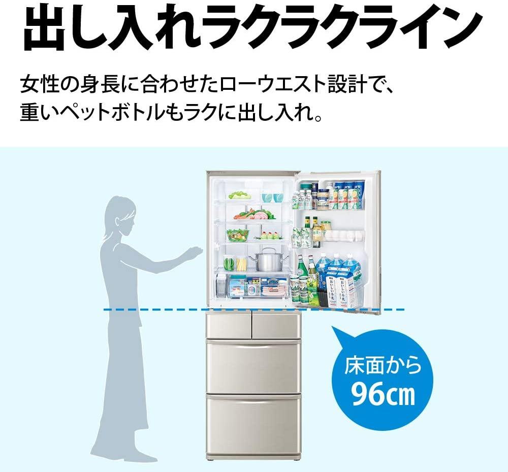 SHARP(シャープ)冷蔵庫 SJ-W412Fの商品画像3
