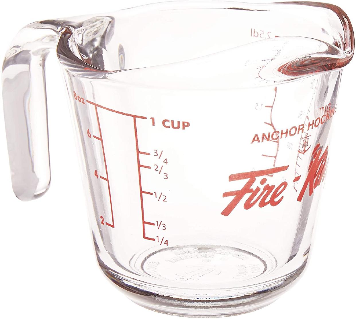 Fire King(ファイヤーキング) メジャリングカップ 250mlの商品画像