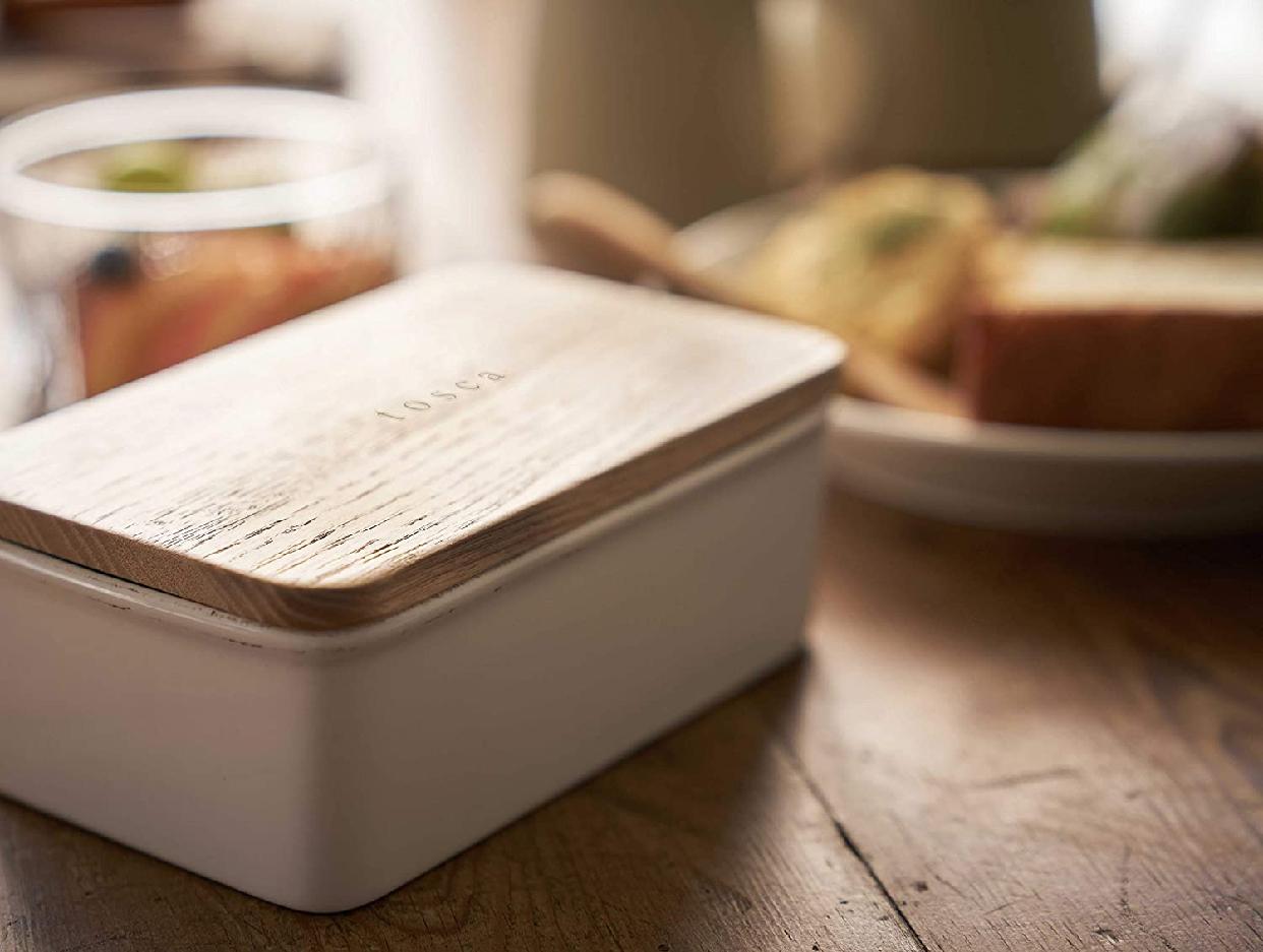 山崎実業(やまざきじつぎょう)バターケース トスカ 3926の商品画像3