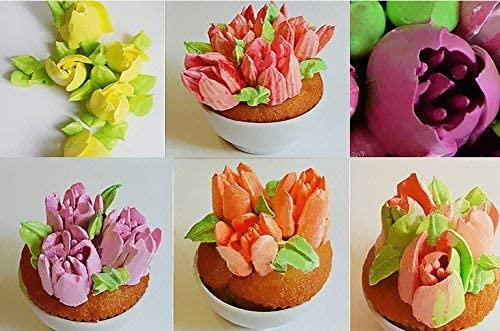Sakura作(サクラサク) 生クリーム絞り口 花7種類の商品画像3