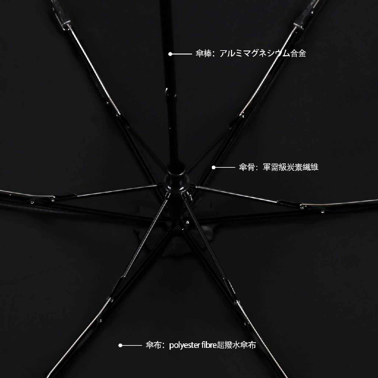 TaiYou 折りたたみ傘 日傘 軽量の商品画像5