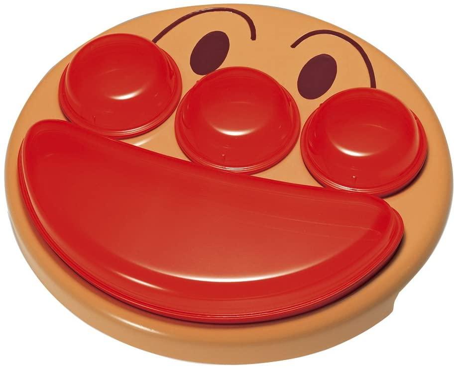 LEC(レック) アンパンマン フェイス ランチ皿の商品画像