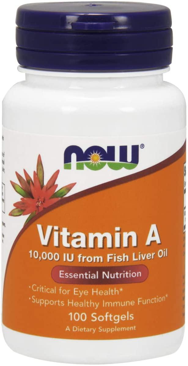 NOW Foods(ナウフーズ)ビタミンA 10,000IU