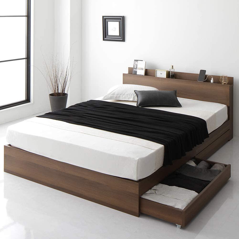 BEST VALUE STYLE(ベストバリュースタイル) 引き出し収納ベッド 連結 Serestの商品画像