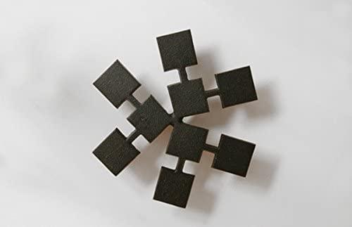 鋳心ノ工房 鍋敷・角寄せ Y-3 ブラックの商品画像2