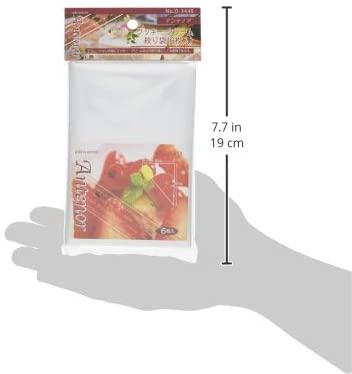 パール金属(PEARL) アンテノア クッキー・クリーム 絞り袋 6枚入 D-3448 クリアの商品画像5