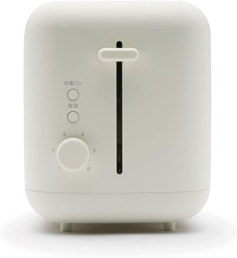 無印良品(MUJI) ポップアップトースター ホワイト MJ-PT6Aの商品画像