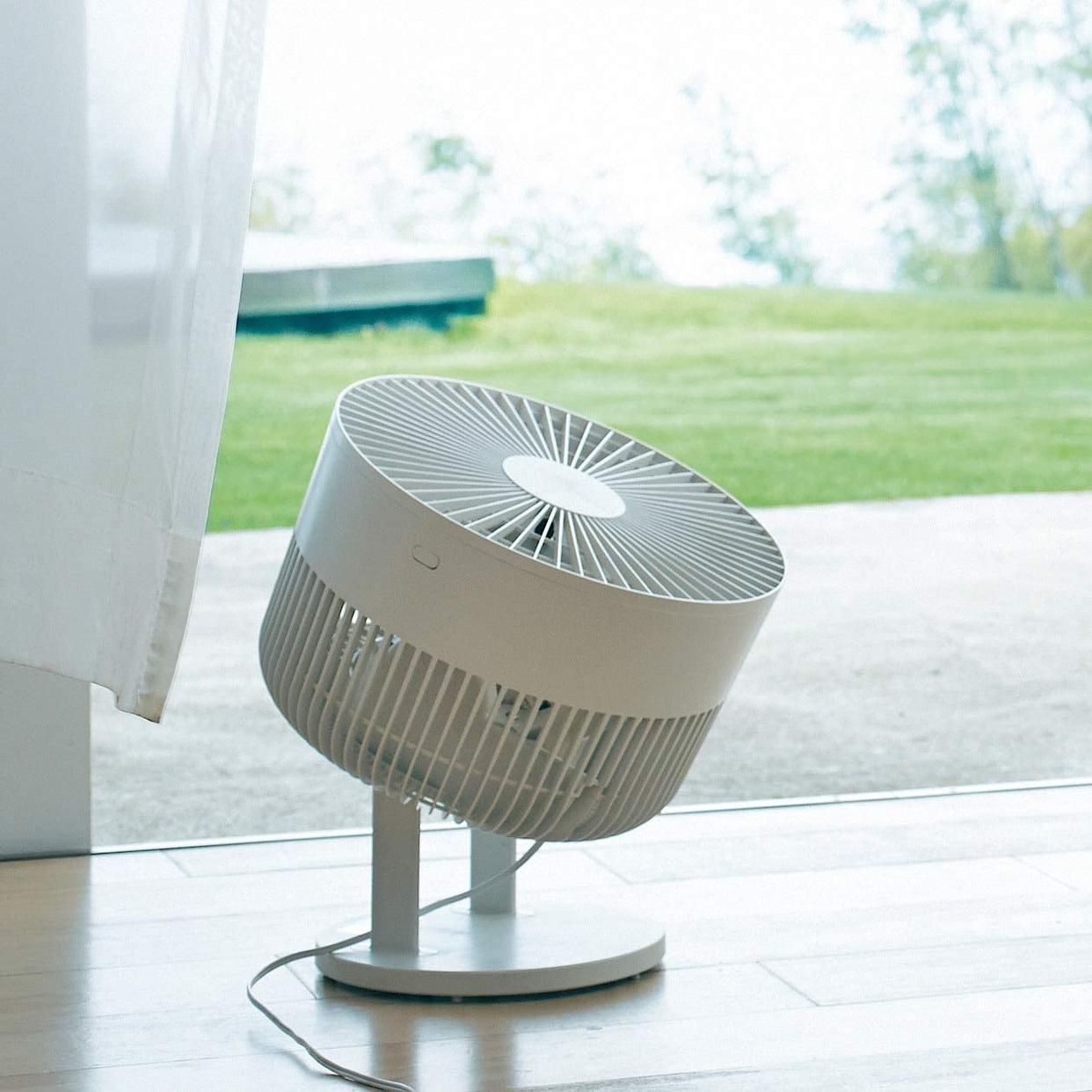 無印良品(MUJI) サーキュレーター(低騒音ファン・大風量タイプ) AT-CF26R-Wの商品画像17