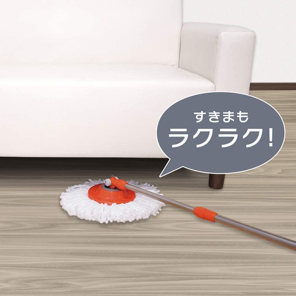 IRIS OHYAMA(アイリスオーヤマ) 回転モップセット KMO-450の商品画像5