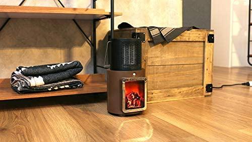 PRISMATE(プリズメイト) 人感センサー付 暖炉ヒーター PR-WA010の商品画像4