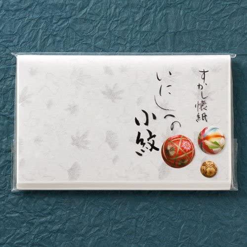 和敬清寂(ワケイセイジャク) 小紋懐紙 すかし吹き寄せ30枚入 20006357の商品画像