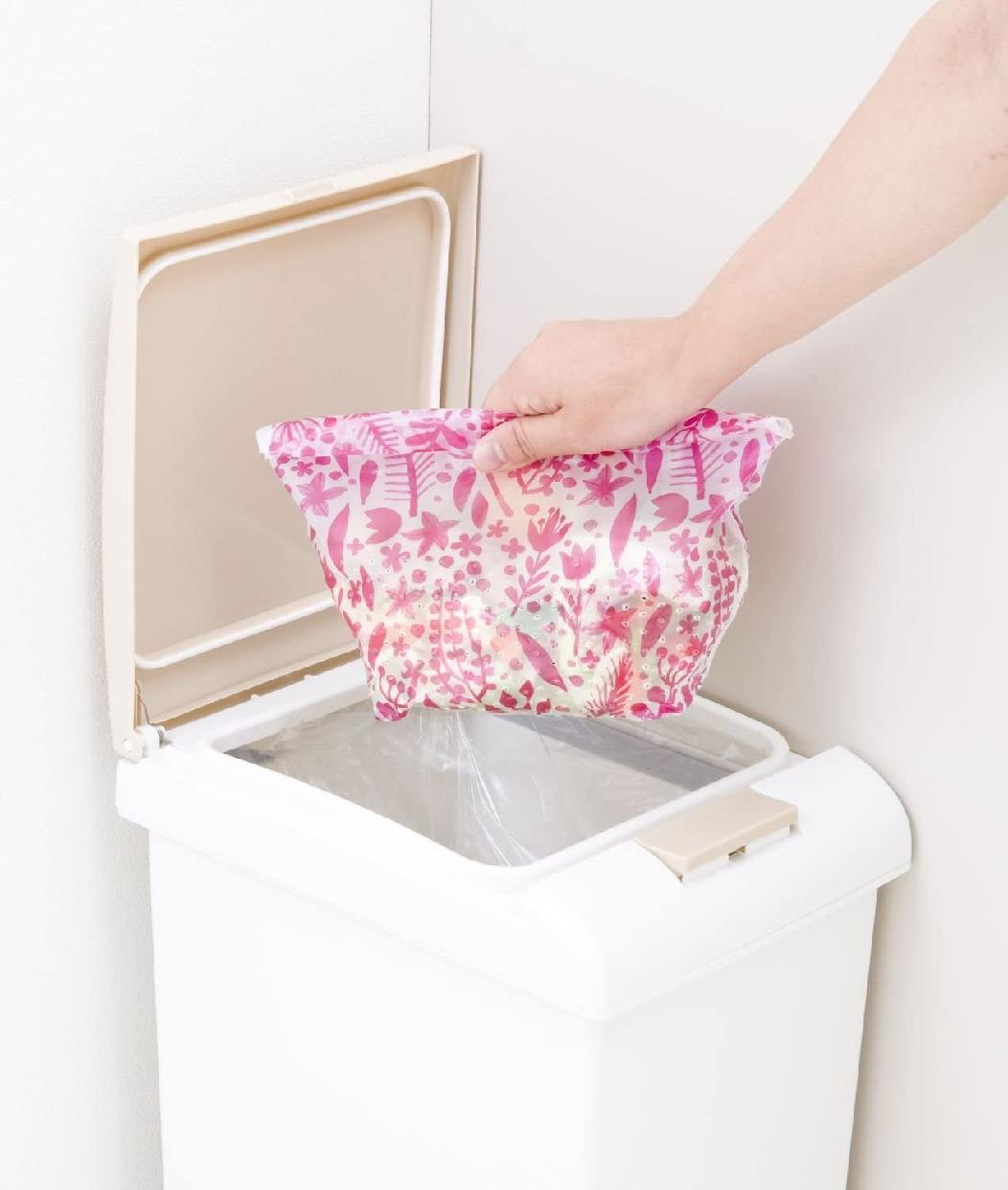 カワタキコーポレーション らくらっくー 自立型水切りゴミ袋 80枚入の商品画像5