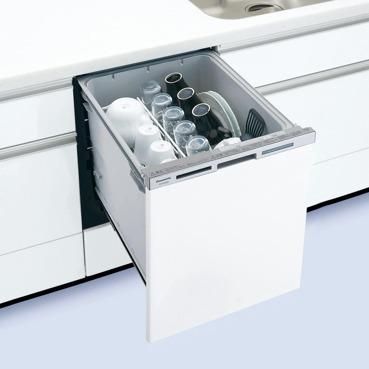 Panasonic(パナソニック) ビルトイン食器洗い乾燥機 NP-45MD8W(ホワイト)の商品画像2