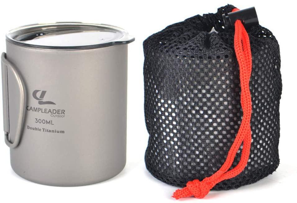 Campleader(キャンプリーダー) チタンコップの商品画像5