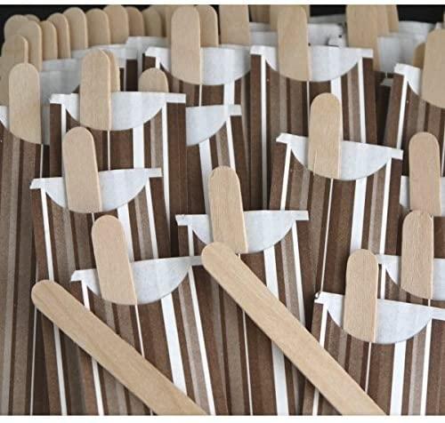 MARUKI(マルキ)木製コーヒーマドラー 50本入り 01544 ブラウンの商品画像4