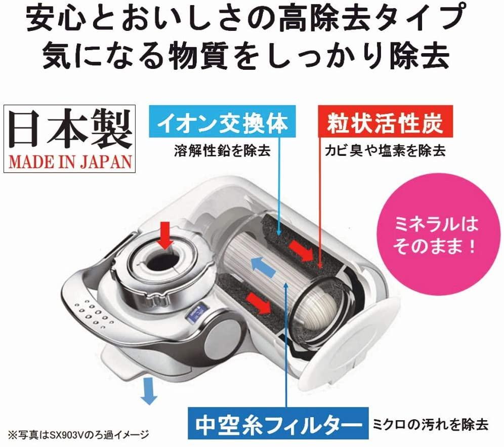 トレビーノ蛇口直結型浄水器 スーパータッチ SX904Vの商品画像2