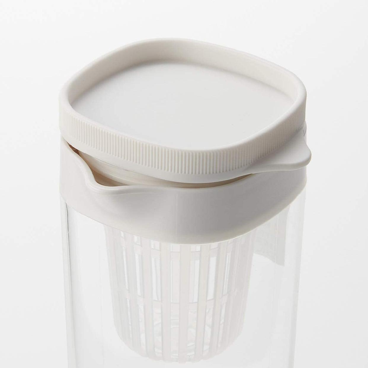 無印良品(MUJI) アクリル冷水筒 ドアポケットタイプ/冷水専用約1Lの商品画像4