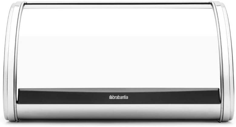 BRABANTIA(ブラバンシア)ブレッドビン ミディアム クローム シルバー 339585